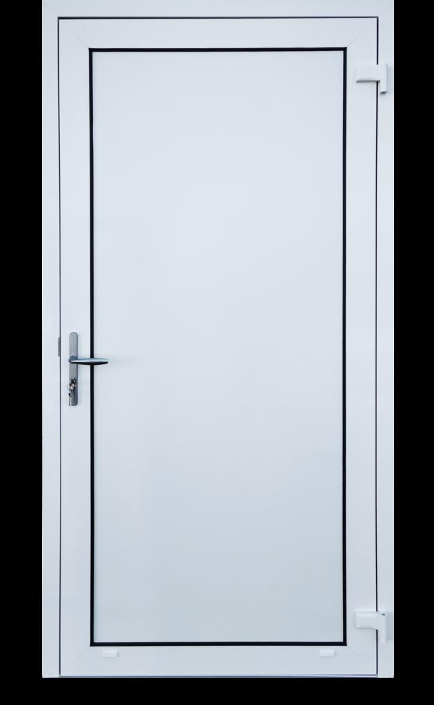 Porte sans rupture thermique
