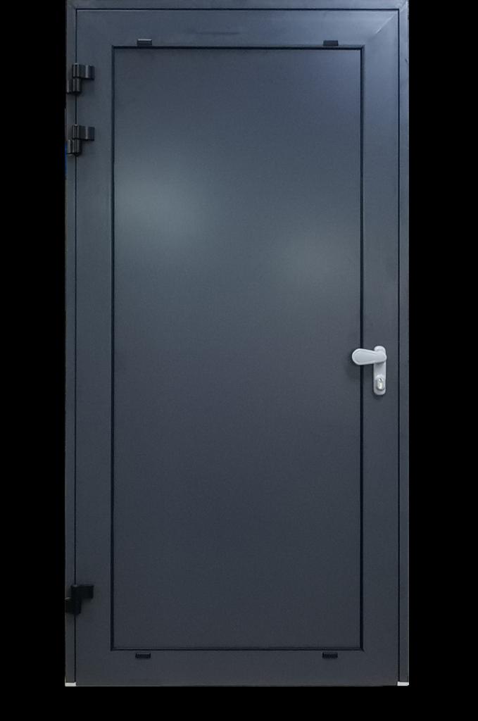 Porte avec rupture thermique