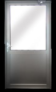 Porte semi-vitrée